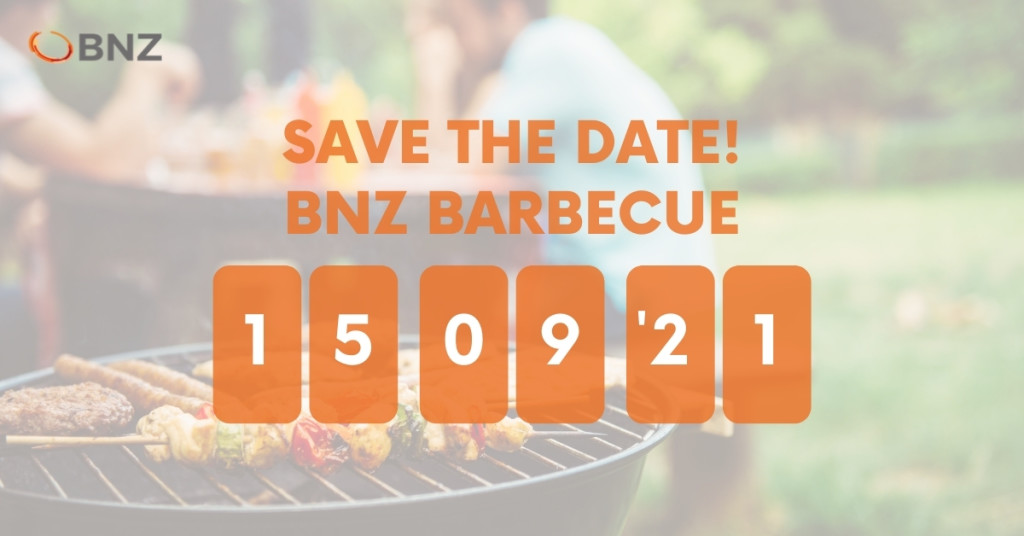 SAVE THE DATE: BNZ (na)zomer barbecue op 15 september a.s.