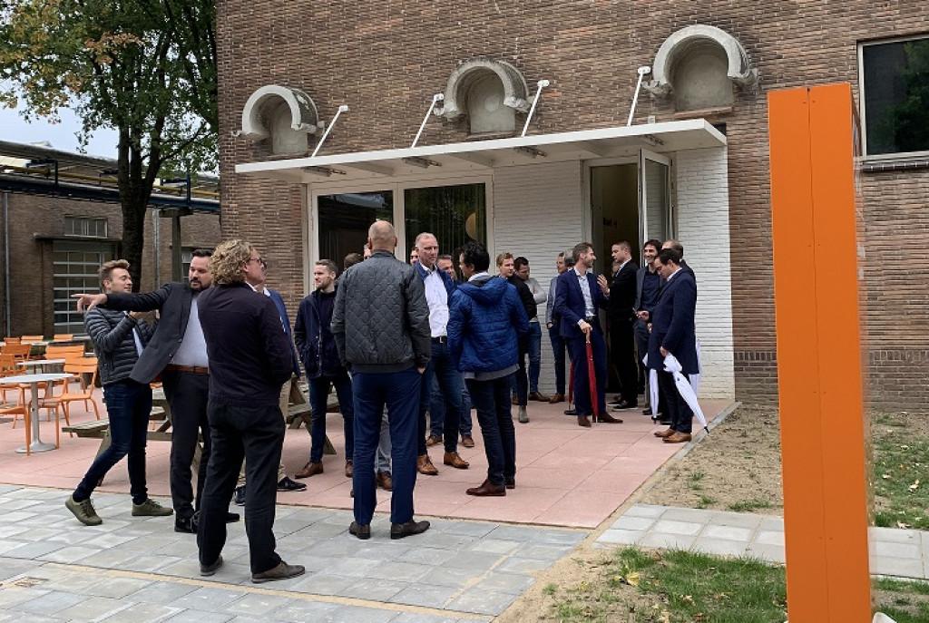 BNZ leden op bezoek bij buren in Arnhem