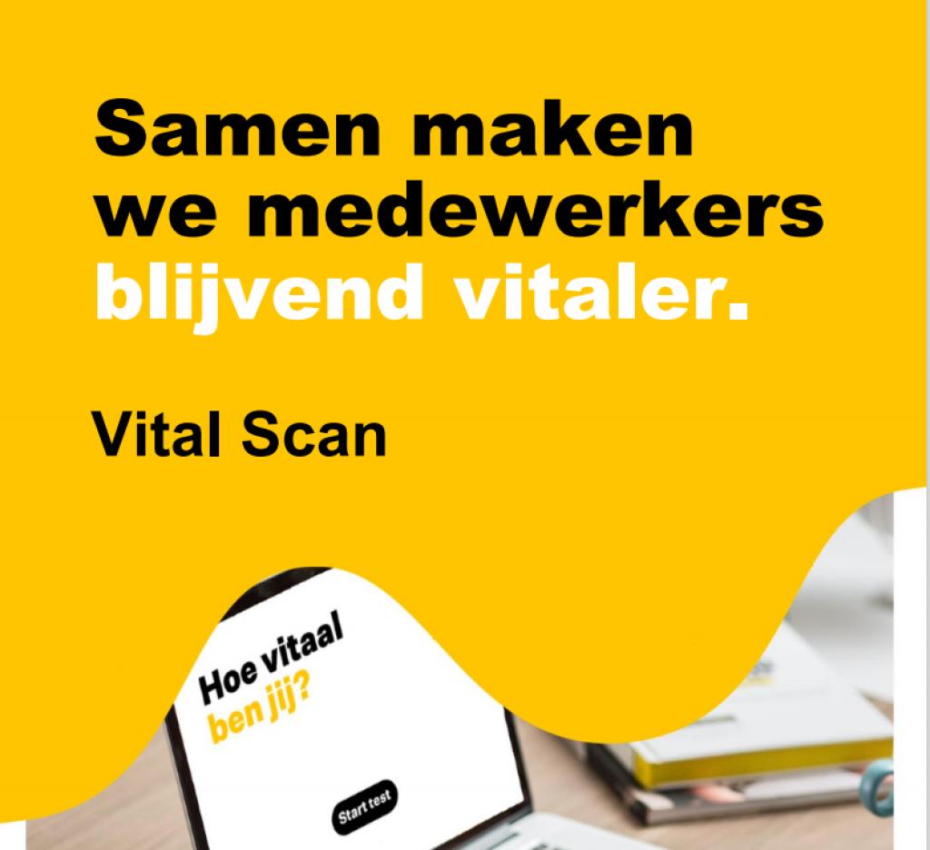 Samen medewerkers blijvend vitaler maken - Vital Scan
